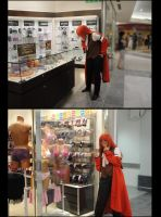 Shopping Time for Grell by EllyMello
