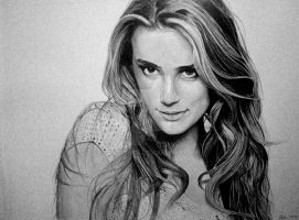Commission Piece: Amber Heard by LuckyNo4