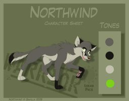 Northwind - Character Sheet by Skailla