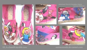 Customized/Hand-painted Espadrilles10 by suirinomoshi