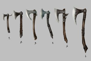 Axes by Manticore85