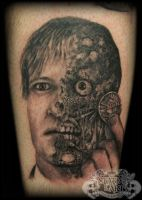 Two Face by state-of-art-tattoo