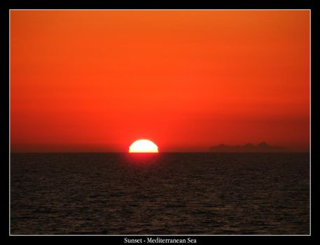 Mediterranean Sunset 7 by mattsteele17