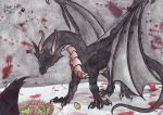 The Black Dragons Dismay by Hisui-Lupo