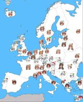 APH: Map of Europe by jjblue1