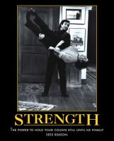 PS: Strength Poster by angelacapel