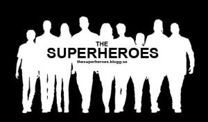 The superheroes logo by Draagonfly