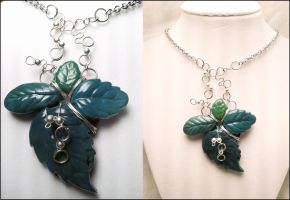 Forest Necklace by dahliasheng