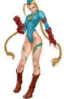 Cammy colored by MarcelaFreire
