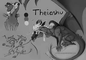 New Character: Theiashu by Ink-Leviathan
