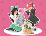 Touhou - They've Shrunk!! by KAIZA-C