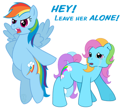 'HEY! Leave Her Alone!' by AnScathMarcach