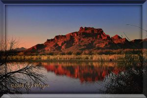 Red Mountain Salt River by e-CJ
