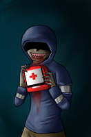 Hunter Loves his Medkits -L4D- by AccursedAsche