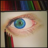 EYE by drawmyownworld