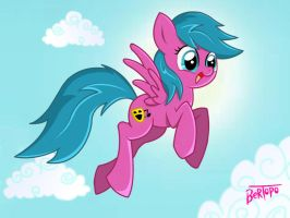 Pony:Singing Blue by Bertopo