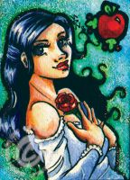 Snow White ACEO by silentlily