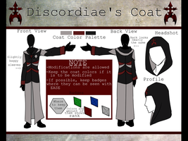 Organization Discordiae's Coat by lucy12143