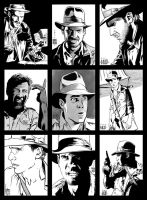 Sketch cards 7 'INDY' by PENICKart