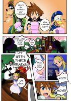 Trouble In Wonderland re: pg2 by tenchufreak