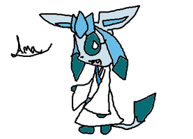 Amaterasu the Glaceon by Cocoafox895