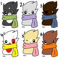 ScarfBlob Adopts by Guineapigwuv