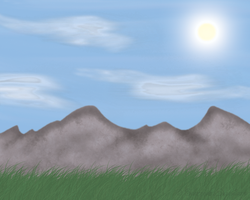 Free Grassy Meadow BG by ShatteredSapphires