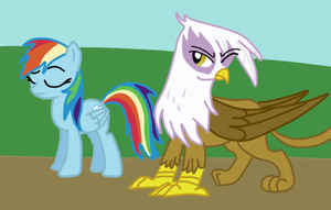 Dash and Gilda by LizaPicture