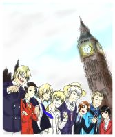 Hetalia London 2012 Olympics by AZNANGELS