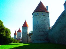 town wall by Johhy55