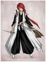 bleach oc zhao 19 by baykura21