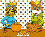 Rita and Goldie - Pumpkin Carving by CaseyDecker