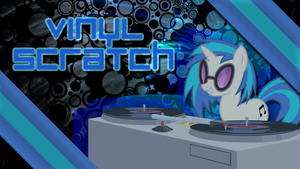 Vinyl Scratch Wallpaper by Fiftyniner