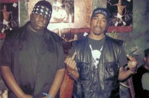 2pac and Biggie by flippachino