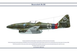 Me 262 JG7 4 by WS-Clave