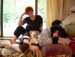 Gaara and Kiba by shakespearemelody