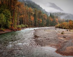 Salmon Fly Fishing by jasonwilde