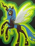 Cardstock Queen Chrysalis by RazgrizInferno