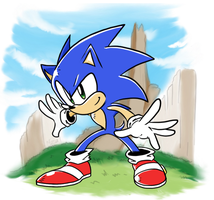 Modern Sonic CD style? by NkoGnZ