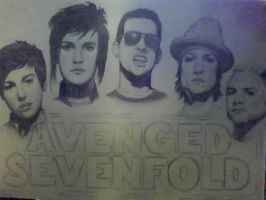 Avenged Sevenfold by Leprachuan
