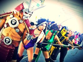 Kombat Time  (MK cosplay) by AlexiaDeath10
