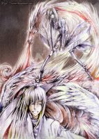 Wings and fire power by Hija--Turner