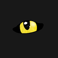 Guess whos this eye by Birdiepawz