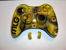 XBOX 360.CONTROLLER CUSTOM AIRBRUSH by DepyArt