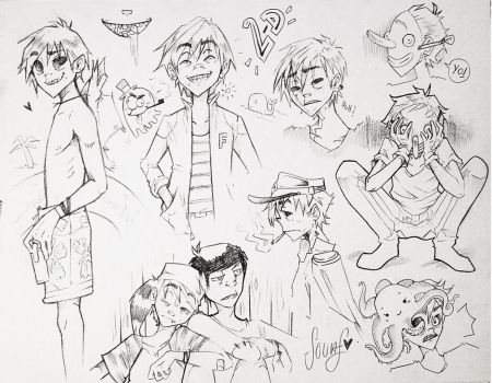 2-d sketches by sounf