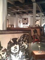Basement of Mr Brainwash by beautifulyuki