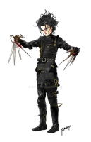 20121106 Edward Scissorhands by amoykid