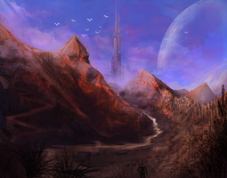 Kuang Hills by TDSpiral