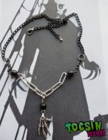 NOSFERATU HAND NECKLACE by TocsinDesigns
