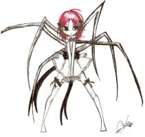 Itsy Bitsy Spider by Squidbiscuit